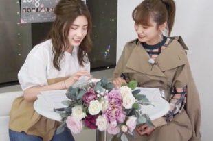 TV番組撮影用フラワーアレンジメント【KALOS LINE LIVE】