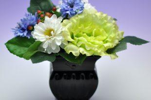 【高品質造花お供え花】トルコキキョウ・優美